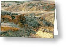 April Domain In Dakota West Greeting Card