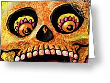 Aranas Sugarskull Of Spiders Greeting Card