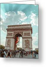 Arc De Triomphe - World Cup 2018 Greeting Card