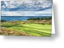Arcadia Bluffs Greeting Card