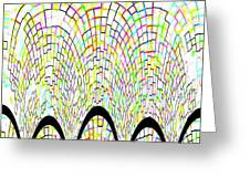 Arches 3 Greeting Card