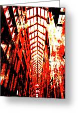 Architecture Interior 2 Greeting Card