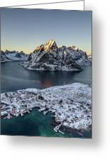 Arctic Sunset Greeting Card