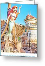 Ariel, The Little Mermaid, Walt Disney World Greeting Card