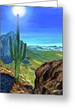 Arizona Heat Greeting Card