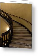 Arlington Spiral Stairs Greeting Card