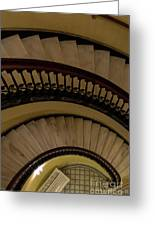 Arlington Stairs Layers Greeting Card