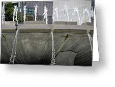 Arthur J. Will Memorial Fountain Greeting Card