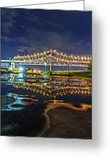 Crescent City Reflection Greeting Card