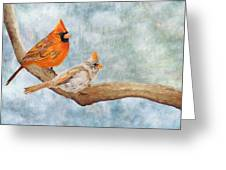 Together Above All Greeting Card
