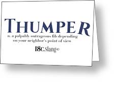Thumper Greeting Card