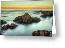 Asilomar Sunset Greeting Card