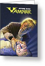 Atomic Vampire Greeting Card