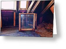 Attic #1 Greeting Card by Mark Jordan