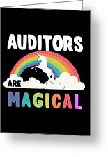 Auditors Are Magical Greeting Card