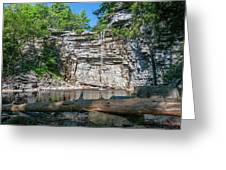August Morning At Awosting Falls 2019 Greeting Card