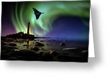 Auroral Splendour For The Vulcan Greeting Card