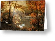Autumn Afterglow Greeting Card