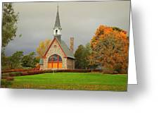 Autumn At Grand Pre Greeting Card