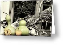 Autumn Farm Stand Greeting Card