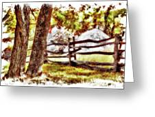Autumn In Doughton Ap Greeting Card