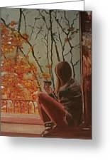 Autumn In Paris Greeting Card