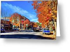 Autumn In Pullman Greeting Card
