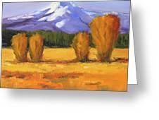 Autumn Mountain Greeting Card