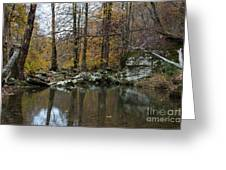 Autumn On The Kings River Greeting Card