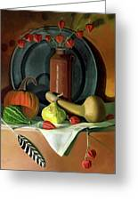 Autumn Still Life Greeting Card