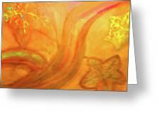 Autumn Transformation Greeting Card