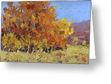 Autumn Treasure Greeting Card by David King