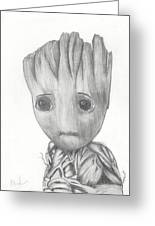 Baby Groot Drawing Drawing By Madura Venkatachalam