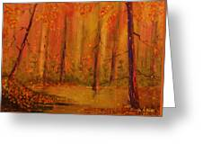 Back Woods Greeting Card