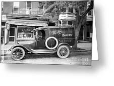 Bakery Car, C1915 Greeting Card
