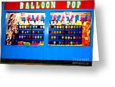 Balloon Pop Greeting Card