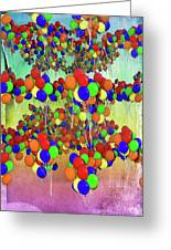 Balloons Everywhere Greeting Card