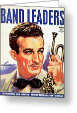 Band Leaders Harry James, 1931 Poster Greeting Card