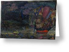 Baranoff-rossine Vladimir  1888-1944  Fairy Lake Greeting Card