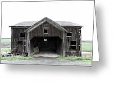 Barn 1886, Old Barn In Walton, Ny Greeting Card by Gary Heller