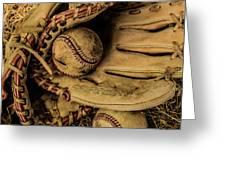 Baseball Mug Greeting Card