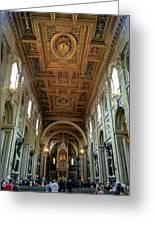 Basilica Di San Giovanni In Laterano Greeting Card