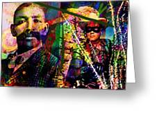 Bass Reeves Greeting Card