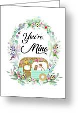 Be In Love Greeting Card