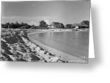 Beach Sand Cove Greeting Card