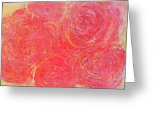 Beefy Roses Greeting Card