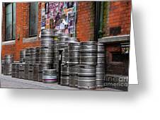 Beer Cans Greeting Card