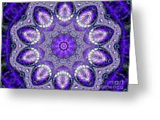 Bejeweled Easter Eggs Fractal Abstract Greeting Card by Rose Santuci-Sofranko