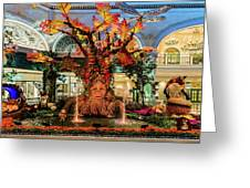 Bellagio Conservatory Enchanted Talking Tree Ultra Wide 2018 2.5 To 1 Aspect Ratio Greeting Card
