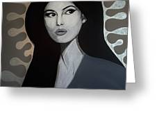 Bellucci Greeting Card by MB Dallocchio